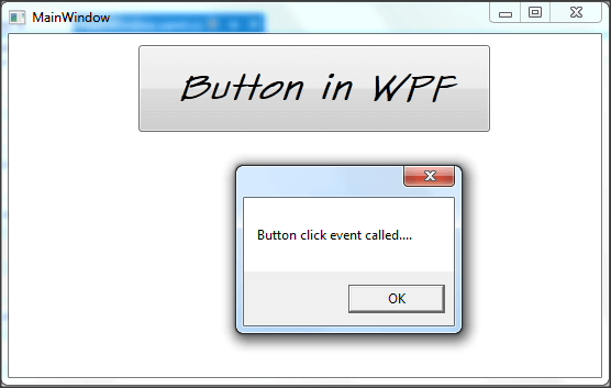Button - WPF Tutorials step by step-Output