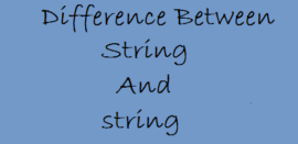 difference-between-String-string-technothirsty