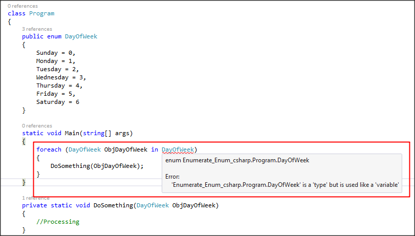Enumerate Enum C# with Examples - Techno Thirsty