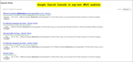 Result-google-search-console-in-mvc-page